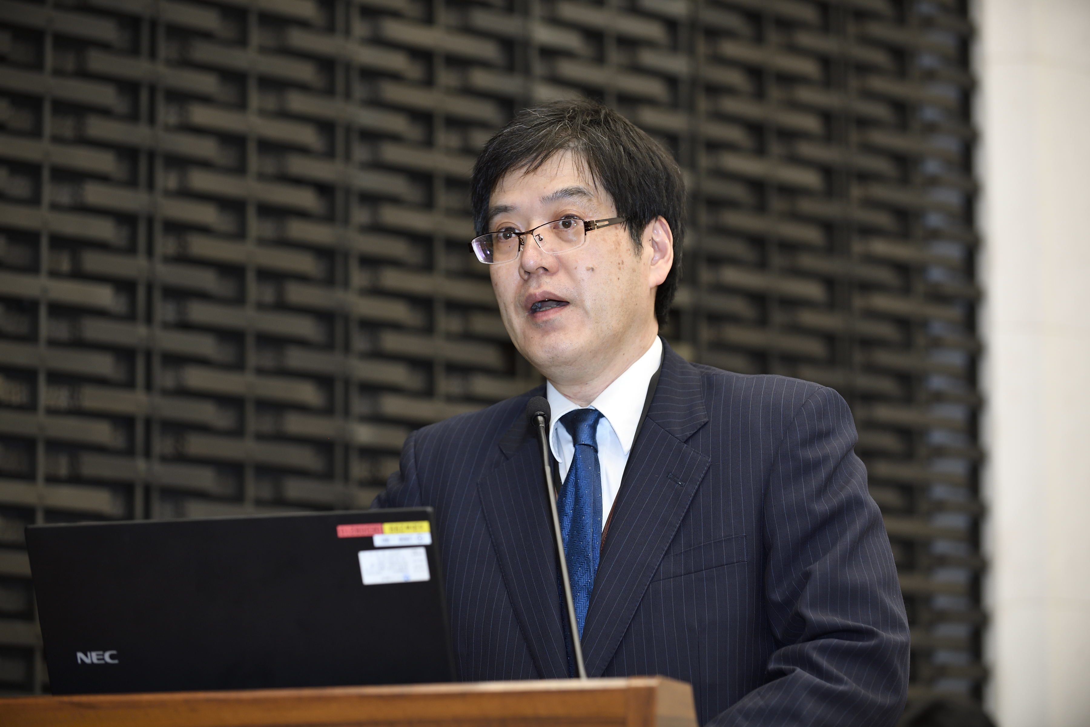 Picture: Tokio Morita, Director-General of the Strategy Development and Management Bureau, Financial Services Agency